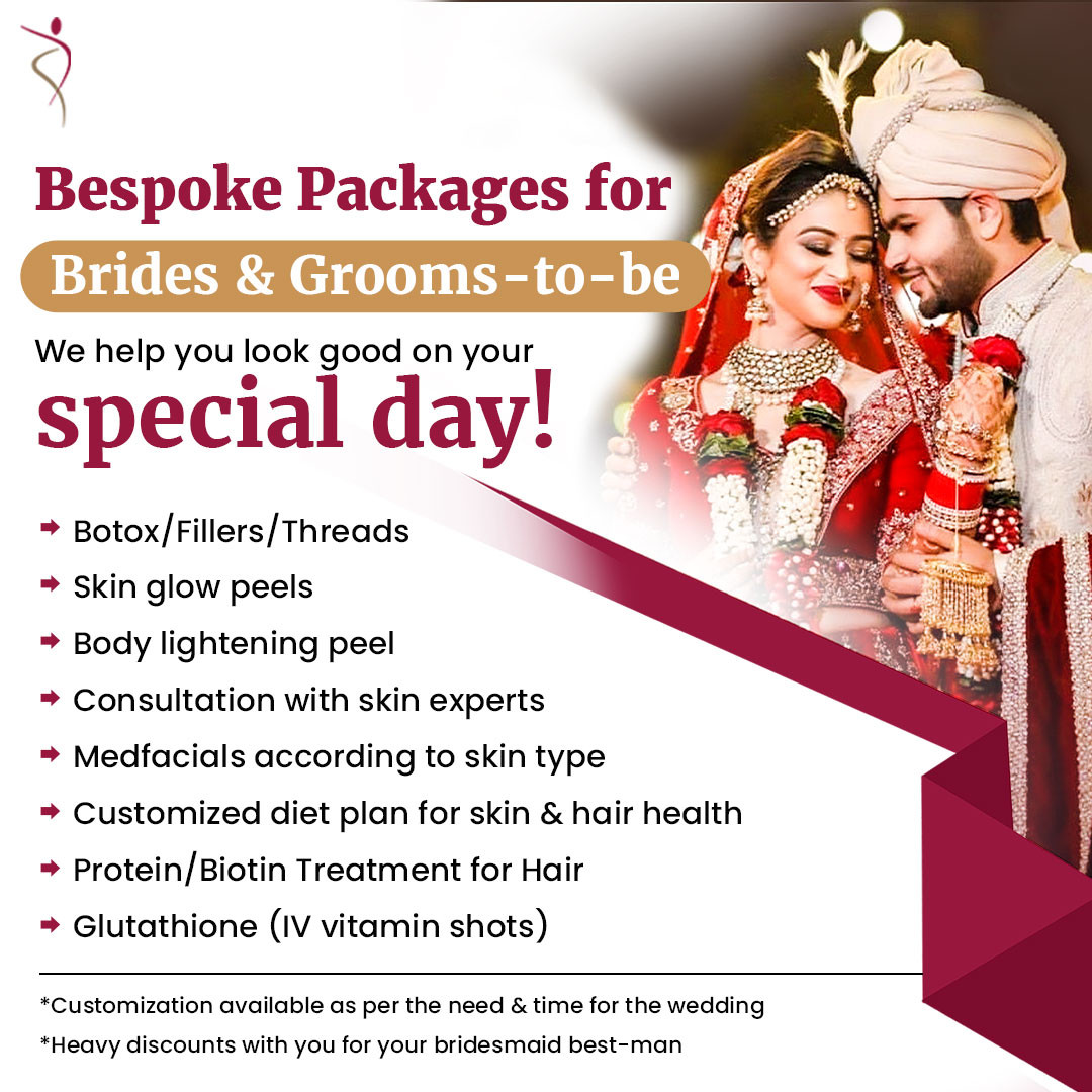 Bespoke Packages for Brides & Grooms