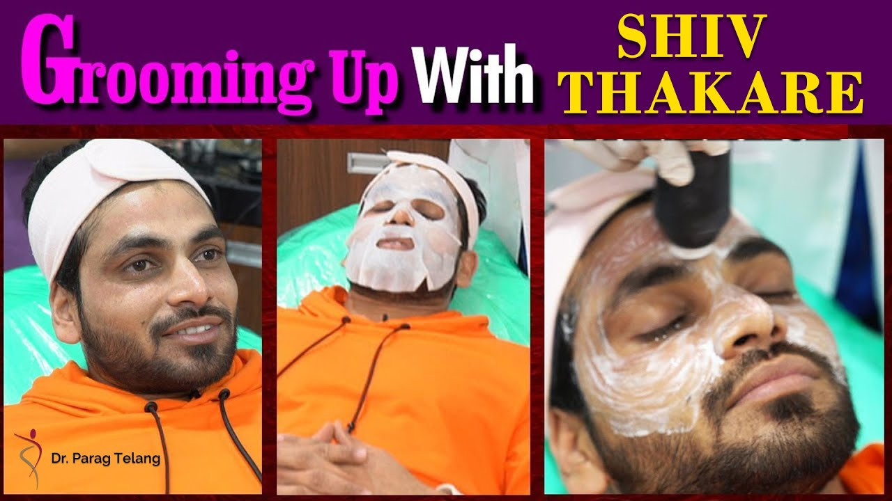 Grooming up with Shiv Thakare